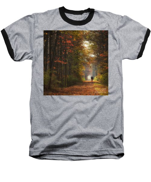 Morning Run Baseball T-Shirt