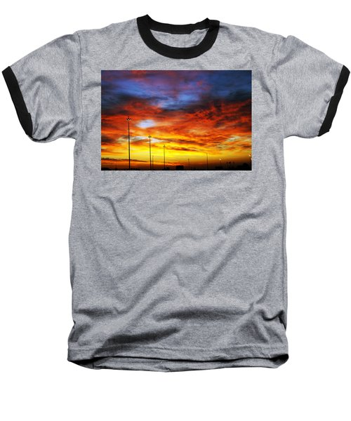 Morning Sky Baseball T-Shirt