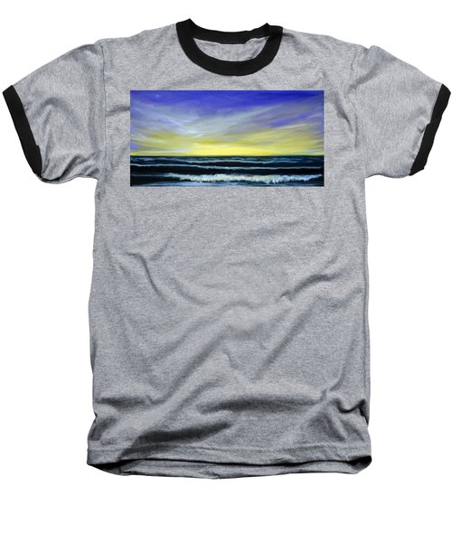 Morning Star And The Sea Oceanscape Baseball T-Shirt