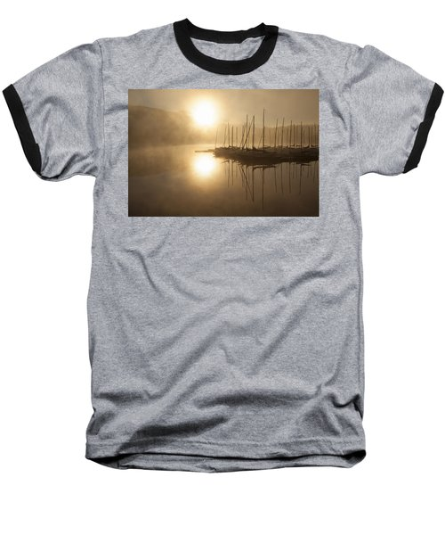 Morning Sun Baseball T-Shirt by Eunice Gibb