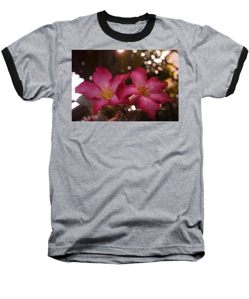 Baseball T-Shirt featuring the photograph Morning Sunshine And Rain by Miguel Winterpacht