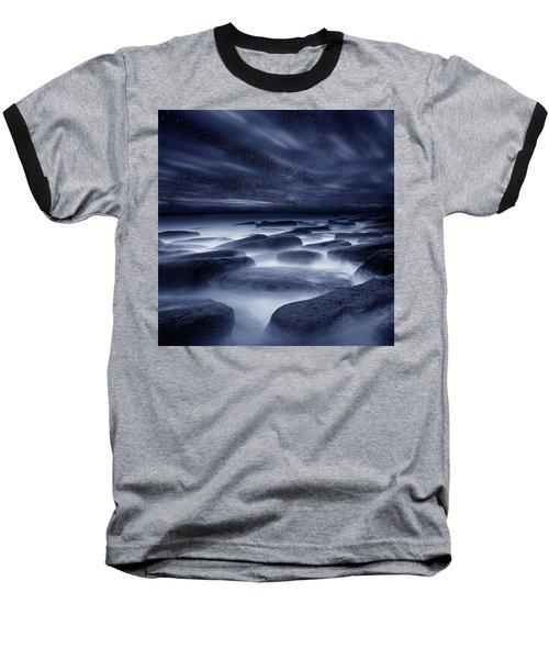 Morpheus Kingdom Baseball T-Shirt by Jorge Maia