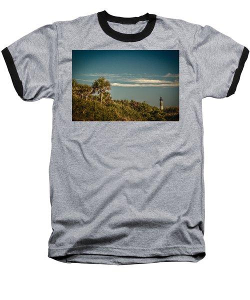 Morris Island Light Charleston Sc Baseball T-Shirt
