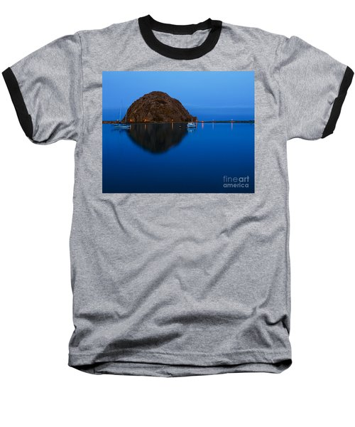 Morro Bay Calm Morning Baseball T-Shirt
