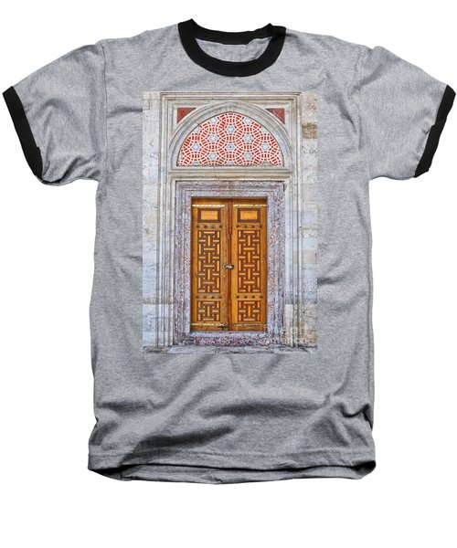 Mosque Doors 04 Baseball T-Shirt