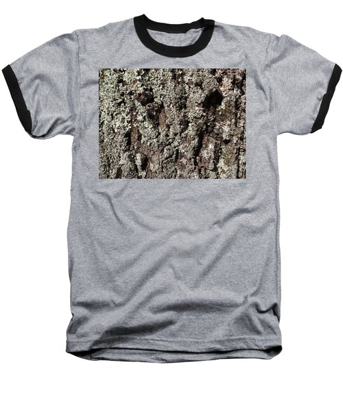 Baseball T-Shirt featuring the photograph Moss And Lichens by Jason Williamson