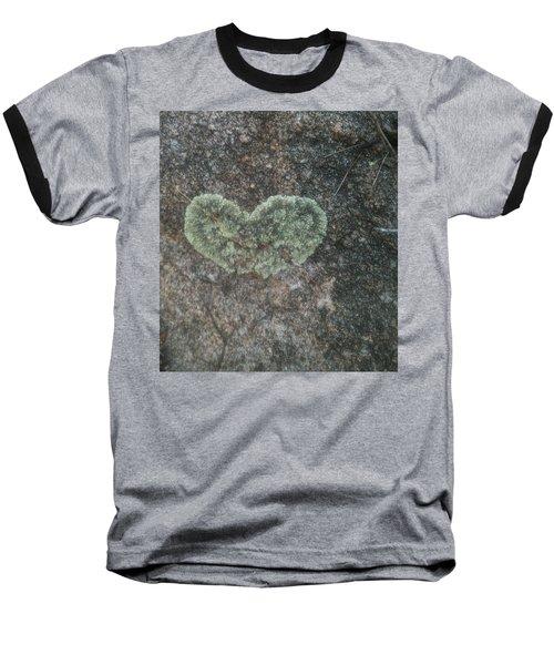 Moss Heart  Baseball T-Shirt