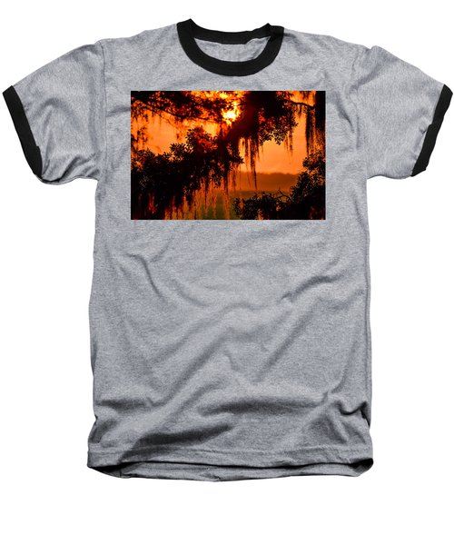 Moss Meets Sun  Baseball T-Shirt