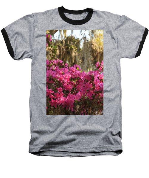 Moss Over Azaleas Baseball T-Shirt