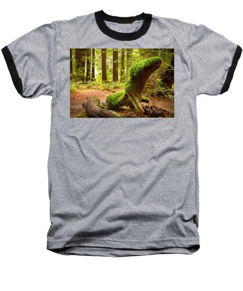 Mossy Creature Baseball T-Shirt