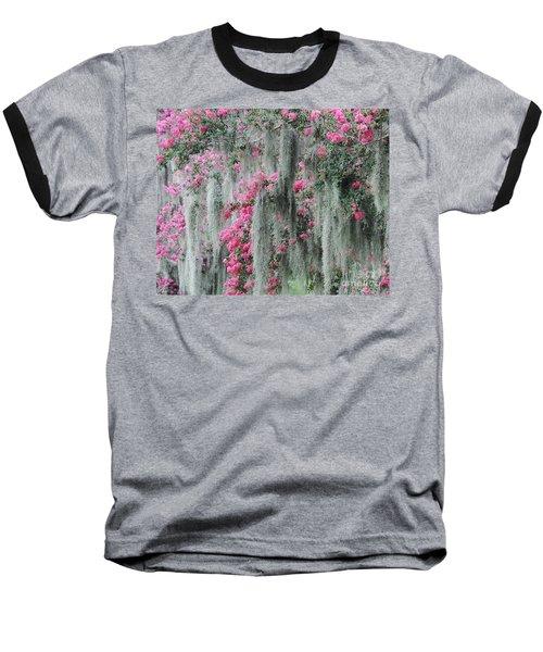 Mossy Crepe Myrtle Baseball T-Shirt