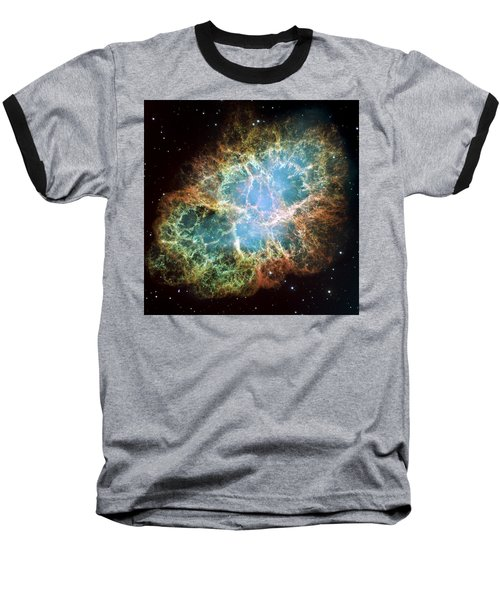 Most Detailed Image Of The Crab Nebula Baseball T-Shirt