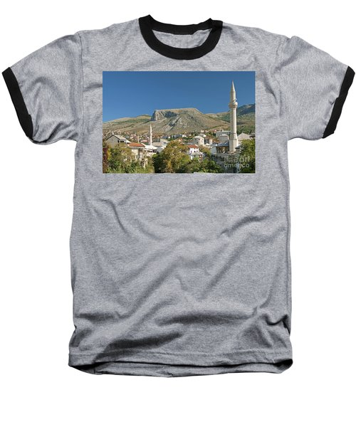 Mostar In Bosnia Herzegovina Baseball T-Shirt