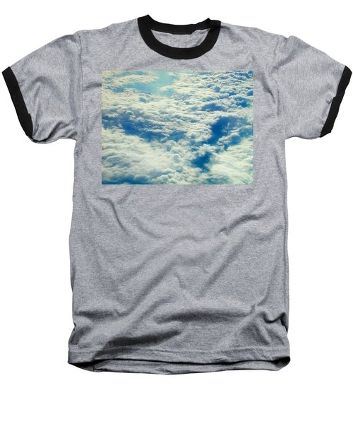 Baseball T-Shirt featuring the photograph Mostly Cloudy by Mark Greenberg
