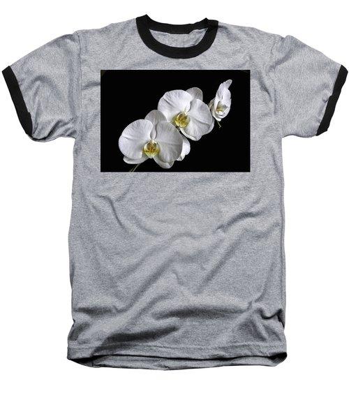 Moth Orchid Trio Baseball T-Shirt
