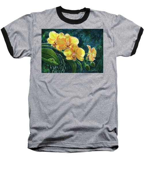 Moth Orchids Baseball T-Shirt