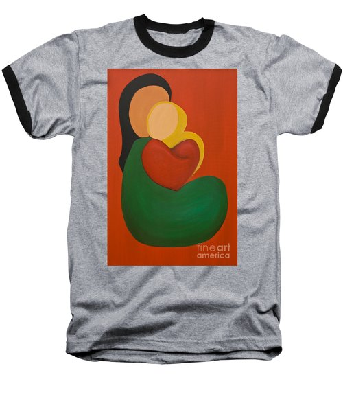 Mother And Child Baseball T-Shirt
