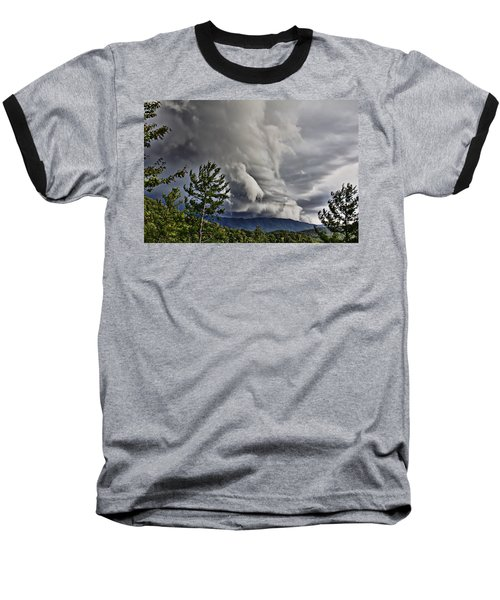 Mother Nature Showing Off V2 Baseball T-Shirt by Tom Culver