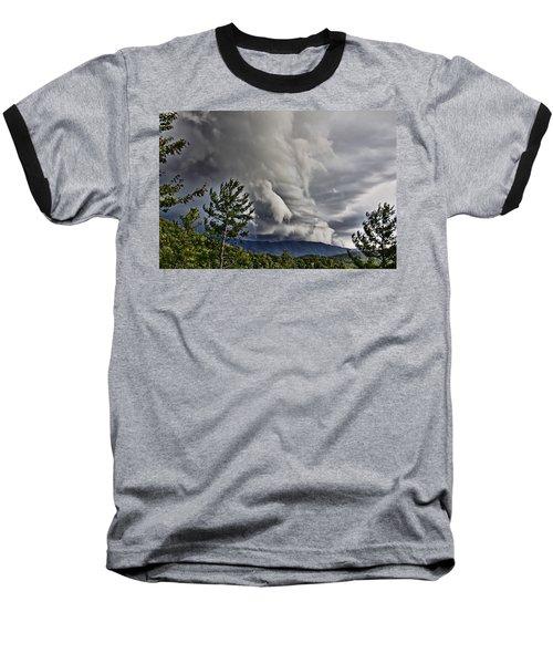 Mother Nature Showing Off V2 Baseball T-Shirt
