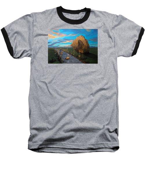 Mother Of Anguishes  Baseball T-Shirt by Lazaro Hurtado