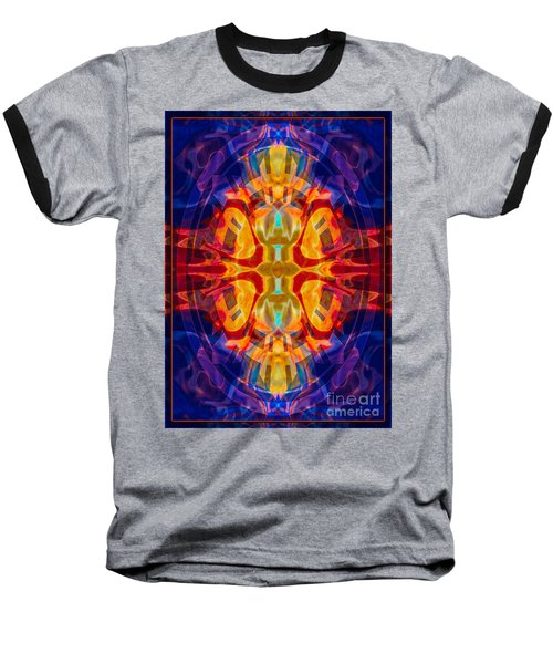 Mother Of Eternity Abstract Living Artwork Baseball T-Shirt