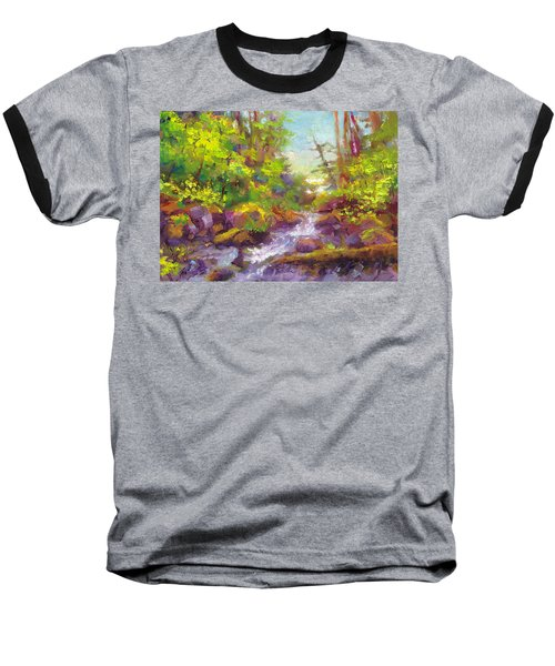 Mother's Day Oasis - Woodland River Baseball T-Shirt
