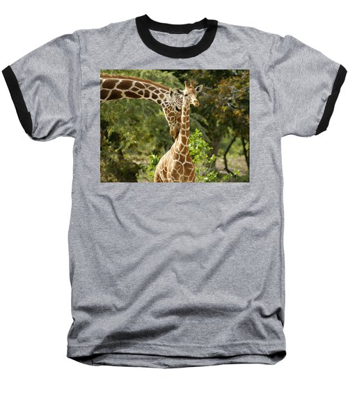 Mothers' Love Baseball T-Shirt by Swank Photography