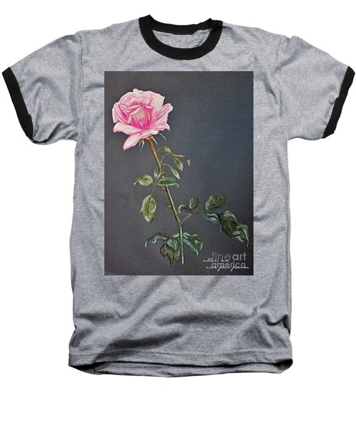 Mothers Rose Baseball T-Shirt