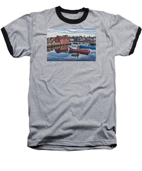 Motif 1 Sky Reflections Baseball T-Shirt by Jeff Folger
