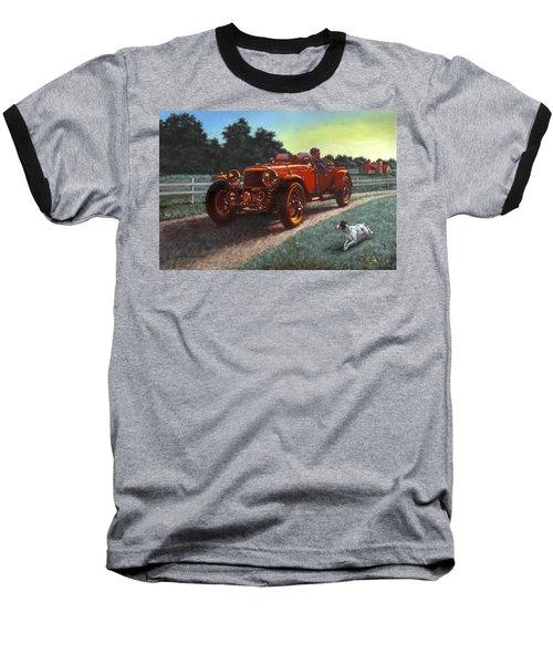 Motor Car Baseball T-Shirt