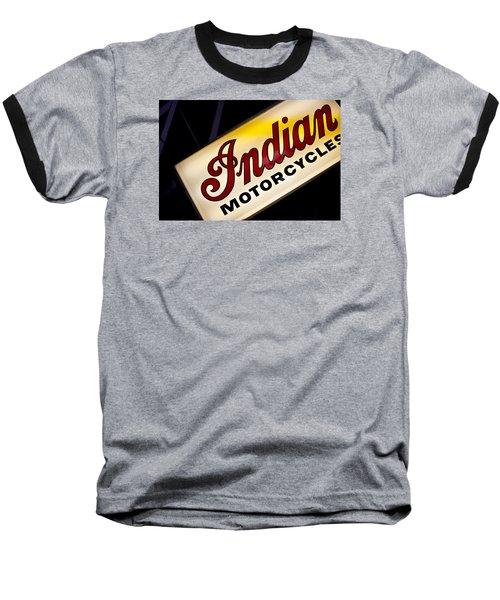 Motorcycle Sign Baseball T-Shirt