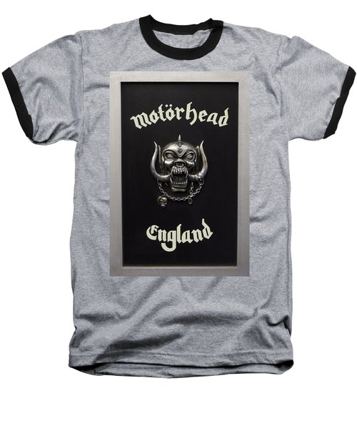 Motorhead England Baseball T-Shirt