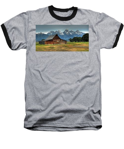 Moulton Barn Morning Baseball T-Shirt