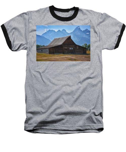 Moulton Barn Baseball T-Shirt by Tricia Marchlik