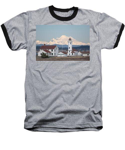 Mount Baker And Point Wilson Light Station Baseball T-Shirt
