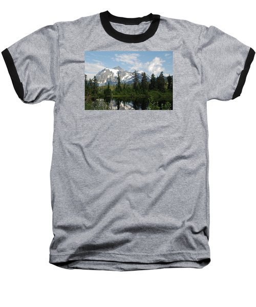 Mount Baker  Baseball T-Shirt