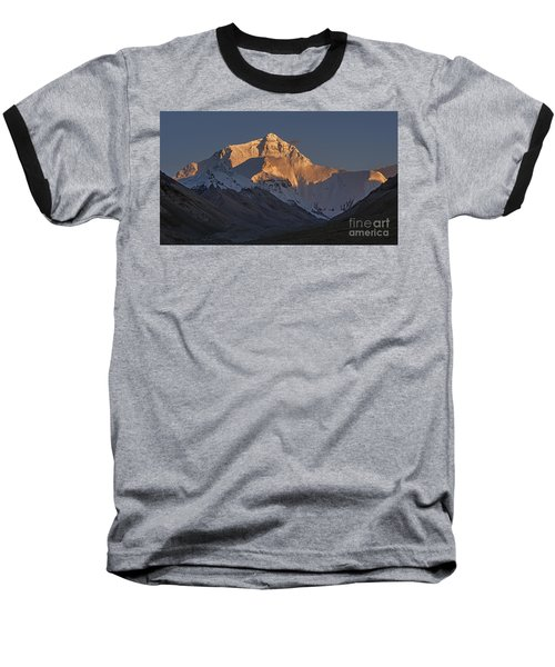 Mount Everest At Dusk Baseball T-Shirt