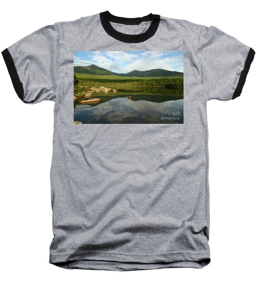 Baseball T-Shirt featuring the photograph Mount Katahdin by Jeannette Hunt