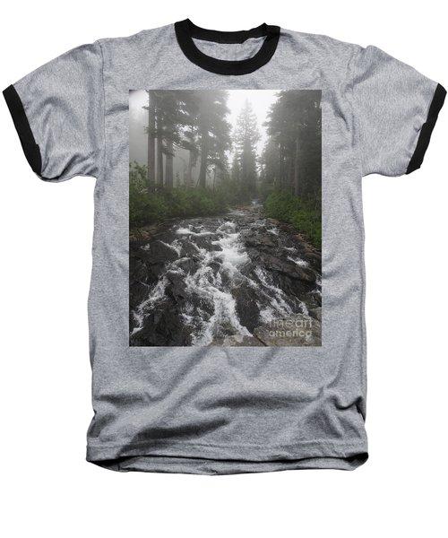 Mount Rainier National Park Baseball T-Shirt