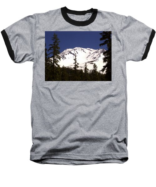 Mount Shasta Baseball T-Shirt