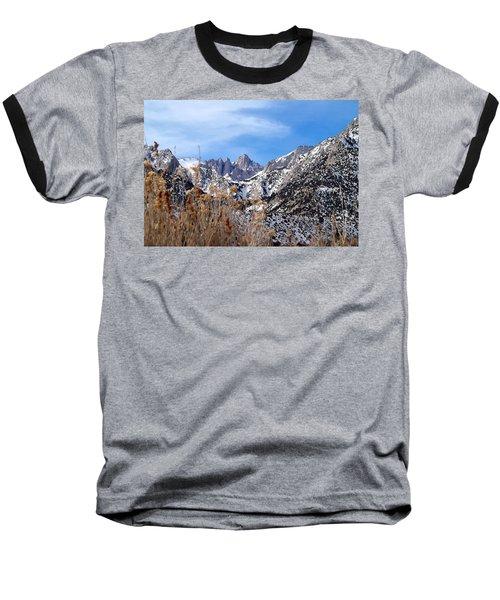 Mount Whitney - California Baseball T-Shirt