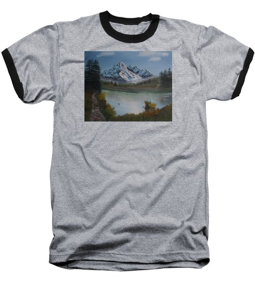 Mountain And River Baseball T-Shirt