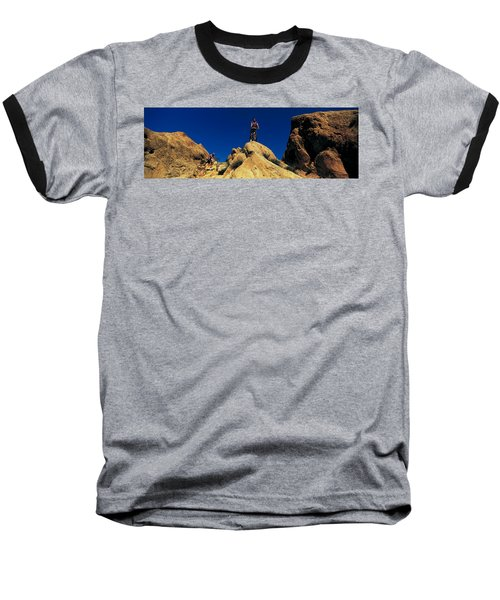 Mountain Bikers Ca Usa Baseball T-Shirt