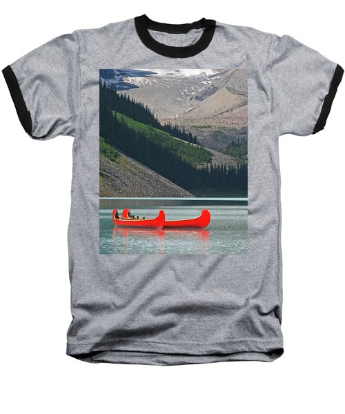 Mountain Canoes Baseball T-Shirt