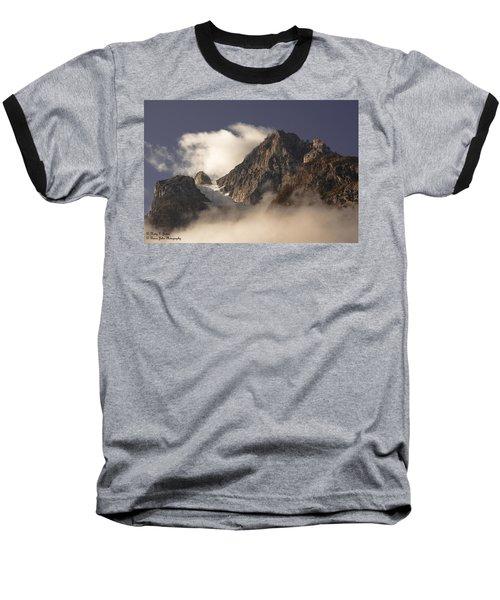 Mountain Clouds Baseball T-Shirt