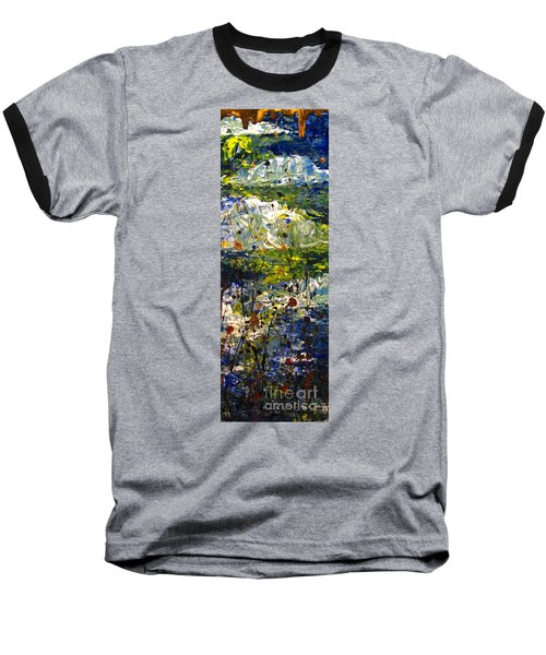 Baseball T-Shirt featuring the painting Mountain Creek by Jacqueline Athmann