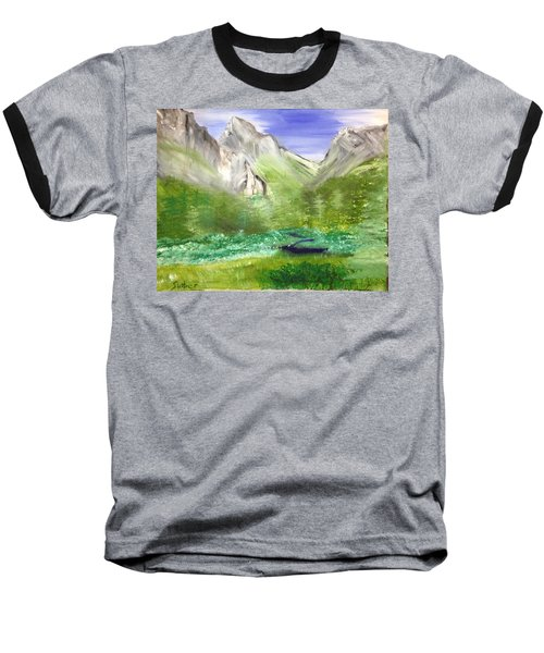 Mountain Day Baseball T-Shirt