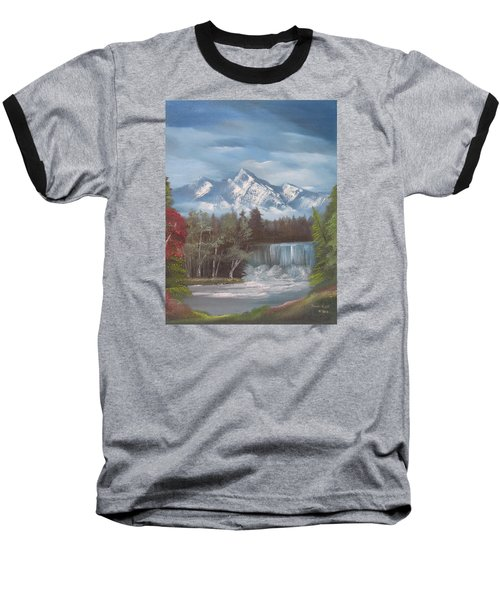 Mountain Dreams Baseball T-Shirt