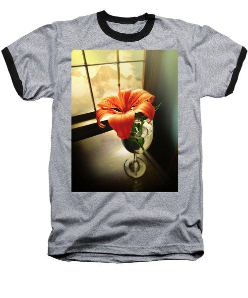 Mountain Lily Baseball T-Shirt