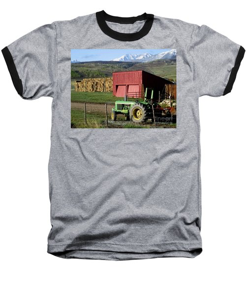Baseball T-Shirt featuring the photograph Mountain Living by Fiona Kennard